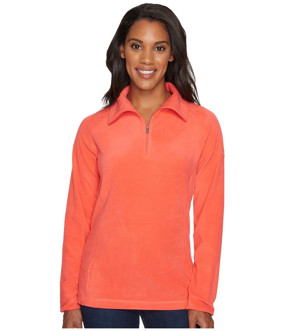 Columbia - Glacialtm Fleece III 1/2 Zip (Red Coral) Women's Coat