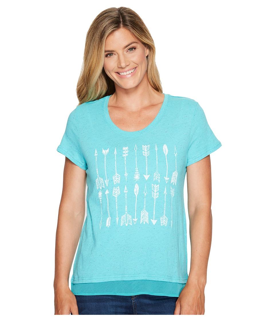 Ariat - Tribal T-Shirt (Drift Turquoise) Women's T Shirt