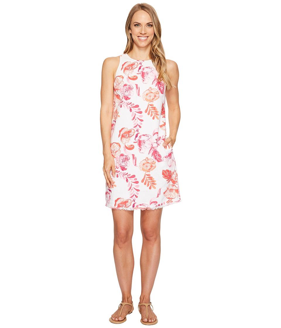 Tommy Bahama - Florals Falling Sleeveless Short Dress (Raspberry Sorbet) Women's Dress