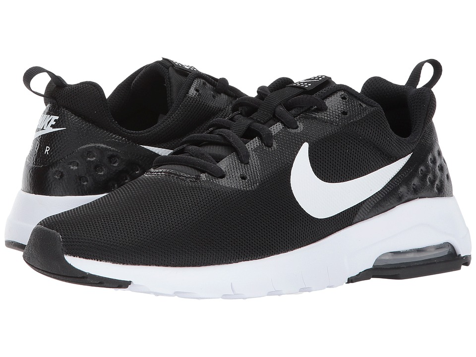 Nike Kids Air Max LW (Big Kid) (Black/White) Boys Shoes