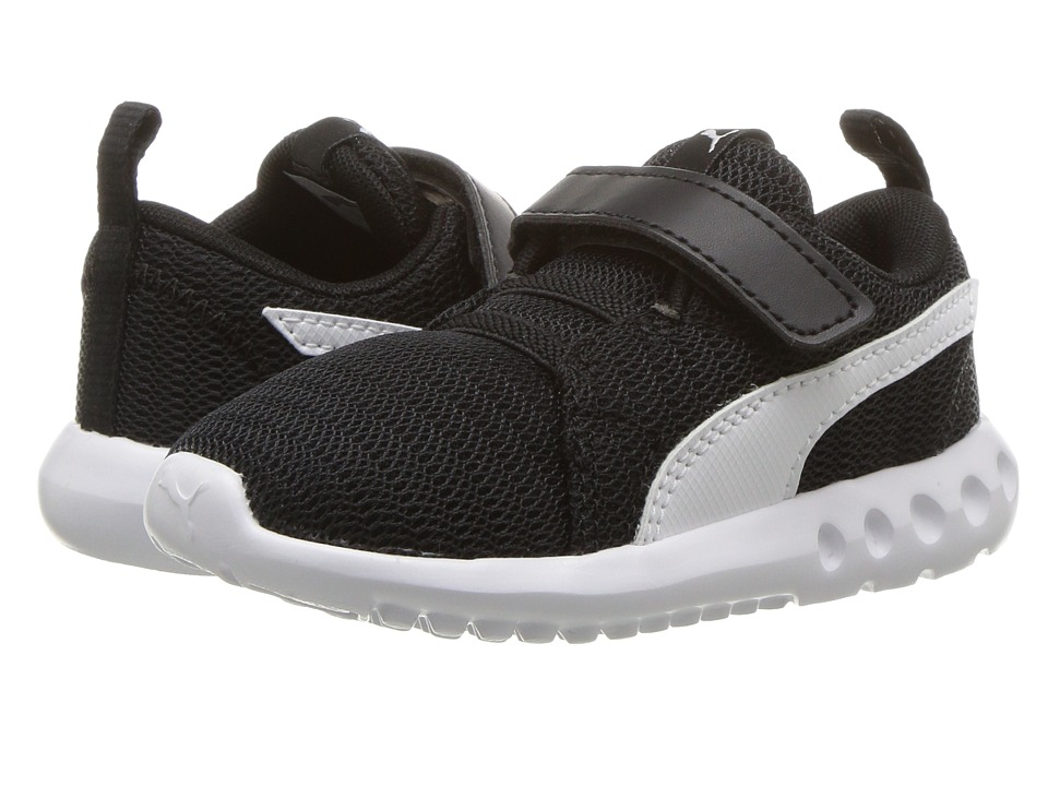 Puma Kids Carson 2 V (Toddler) (Puma Black/Puma White) Boys Shoes