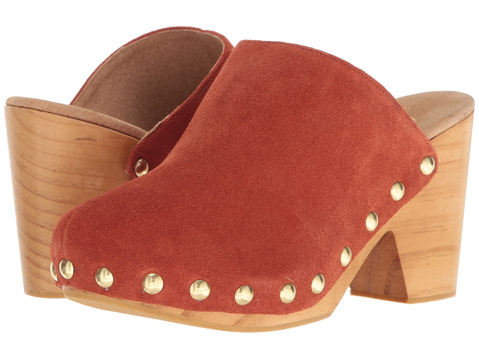 Free People - Ring Leader Clog (Terracotta) Women's Clog Shoes