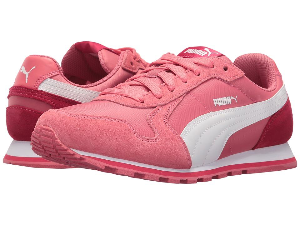 Puma Kids ST Runner NL Jr (Big Kid) (Rapture Rose/Puma White) Girls Shoes