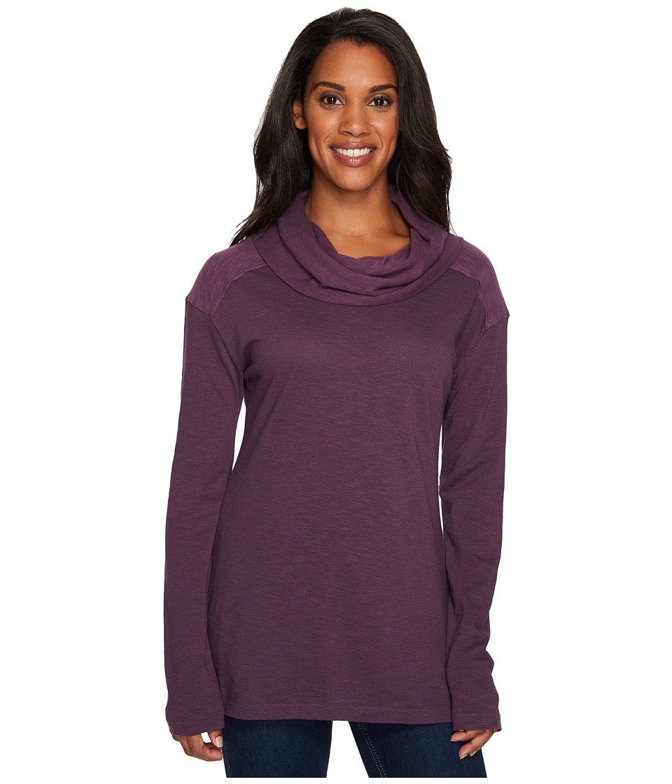 Columbia - Easygoing Long Sleeve Cowl (Dusty Purple) Women's Clothing