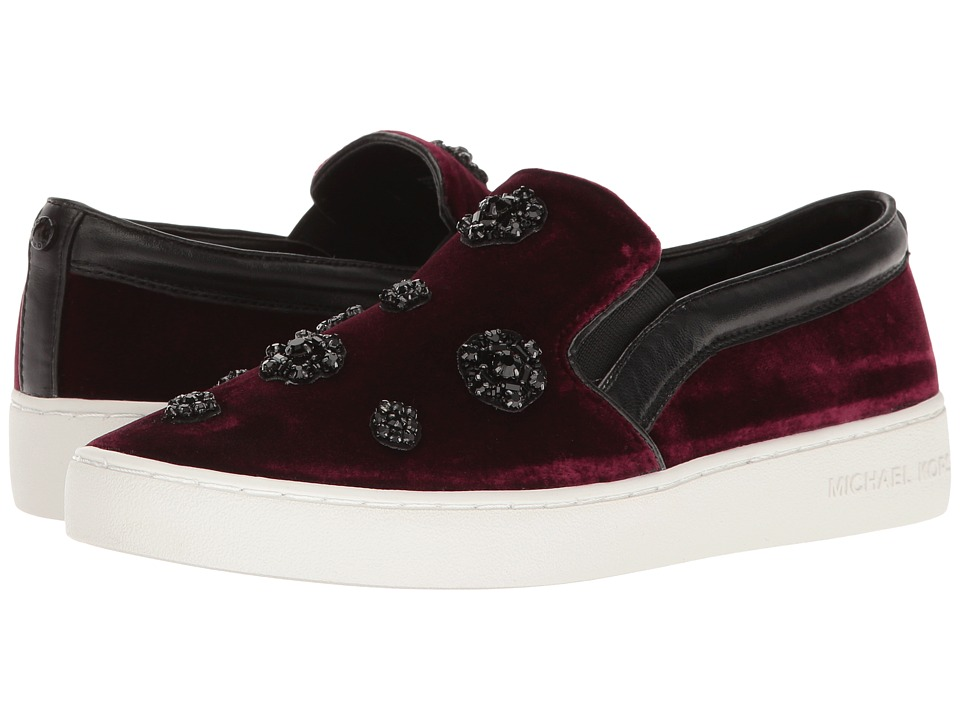 MICHAEL Michael Kors - Keaton Slip-On (Plum/Black) Women's Shoes