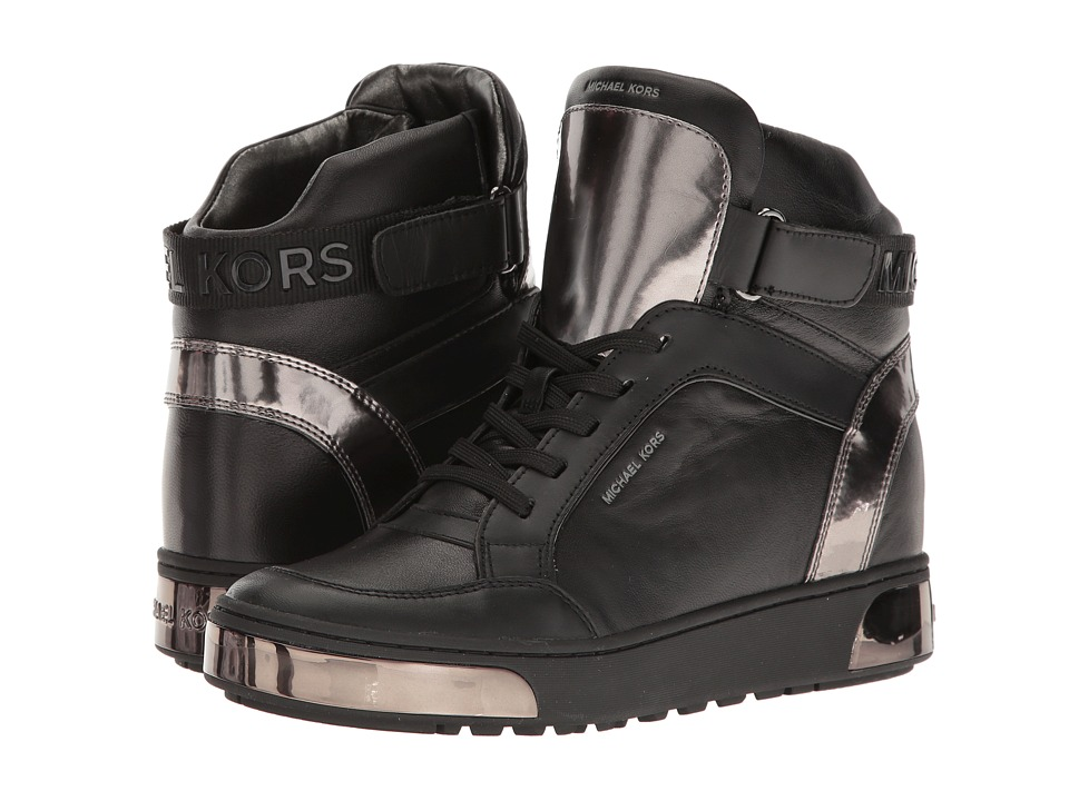 MICHAEL Michael Kors - Pia High Top (Black) Women's Shoes