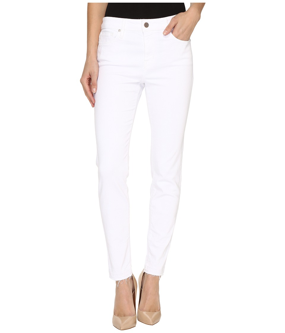 Sanctuary - Robbie High Release Ankle Pants (White) Women's Casual Pants