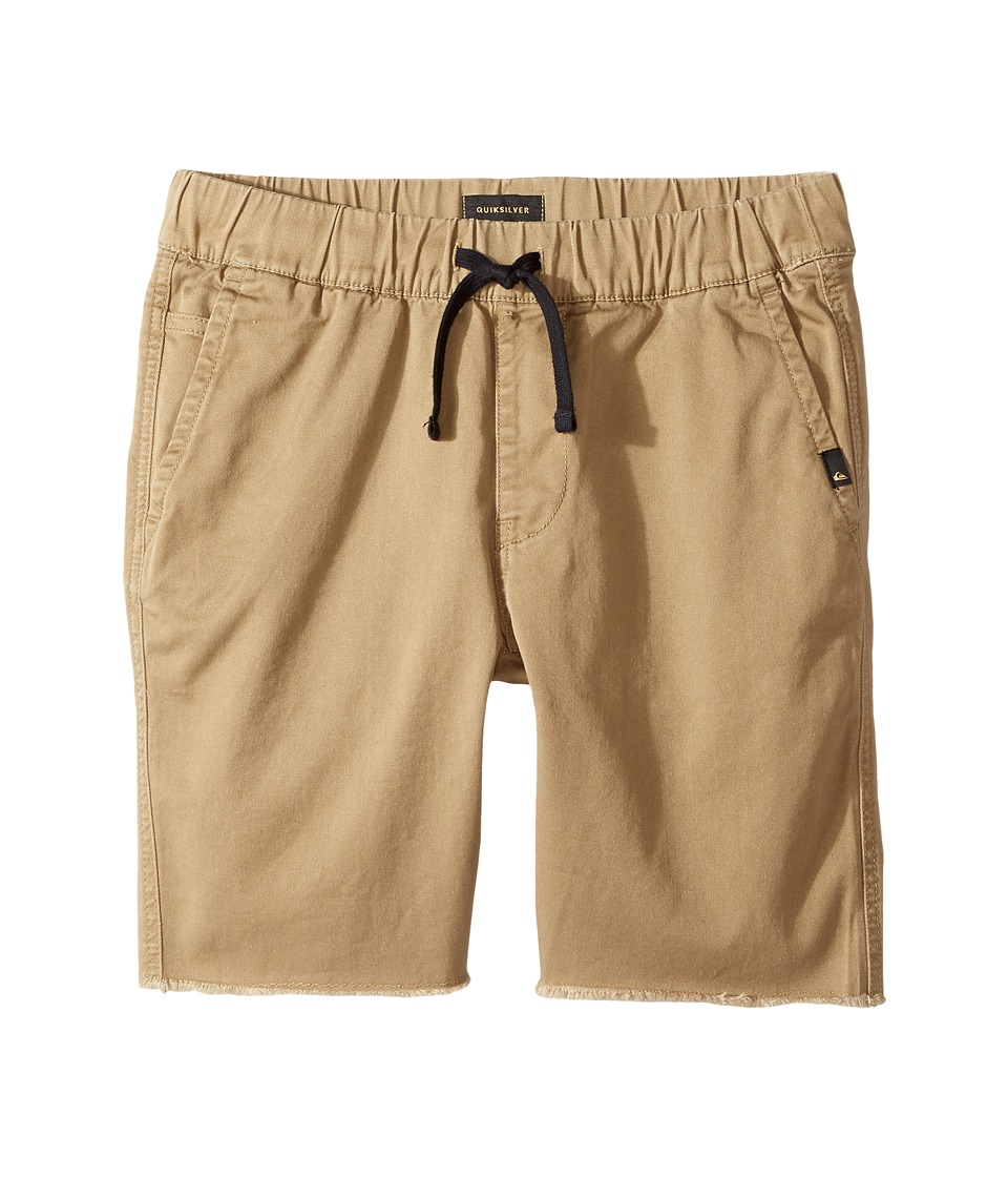 Quiksilver Kids - Fun Days Shorts (Big Kids) (Elmwood) Boy's Shorts