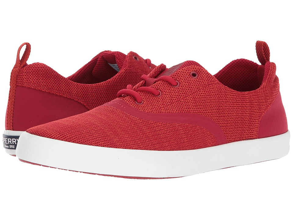 Sperry - Flex Deck CVO Knit (Red) Men's Lace up casual Shoes