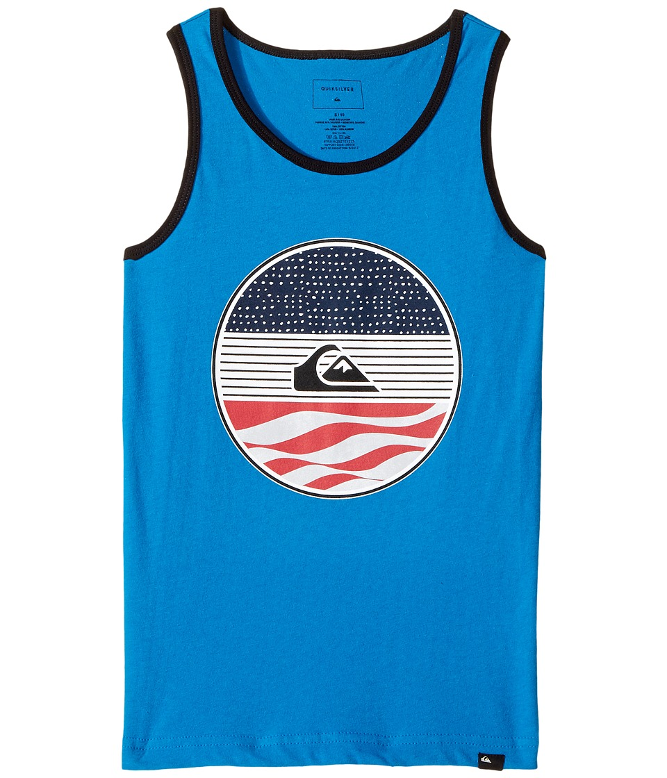 Quiksilver Kids - Block Party Tank (Big Kids) (Imperial Blue) Boy's Sleeveless
