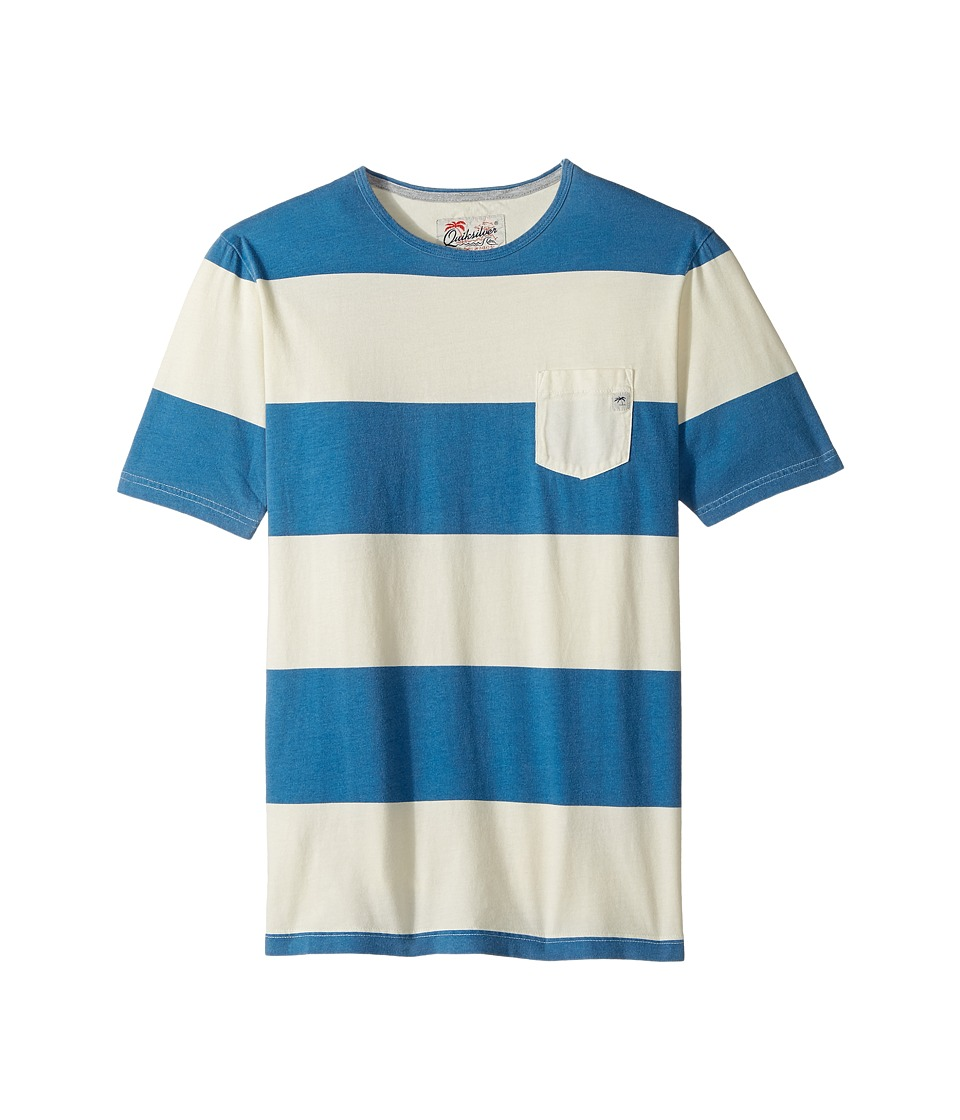 Quiksilver Kids - Maxed Out Hero Tee (Big Kids) (Vallarta Blue) Boy's T Shirt