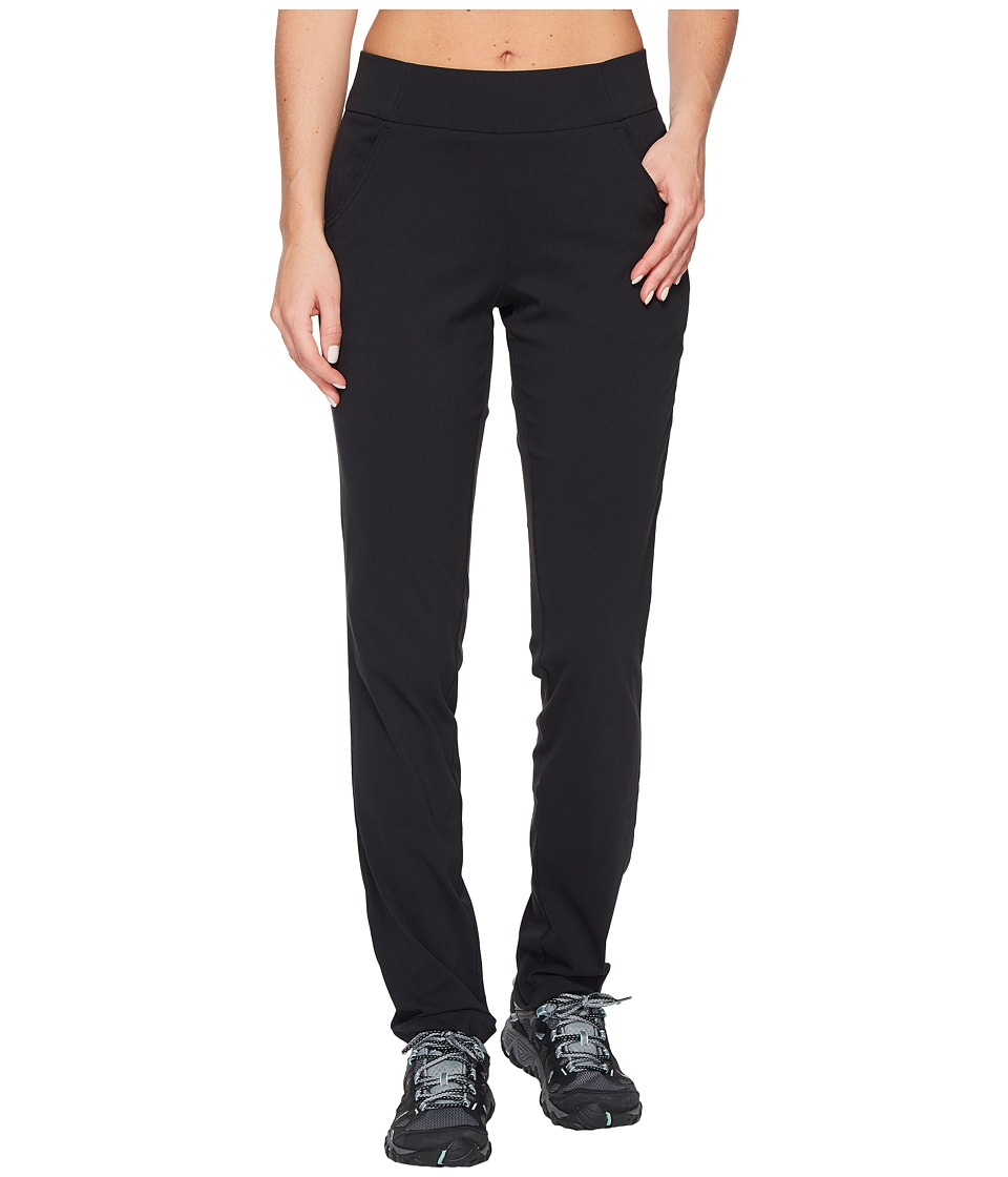 Columbia - Anytime Casual Pull-On Pants (Black) Women's Casual Pants