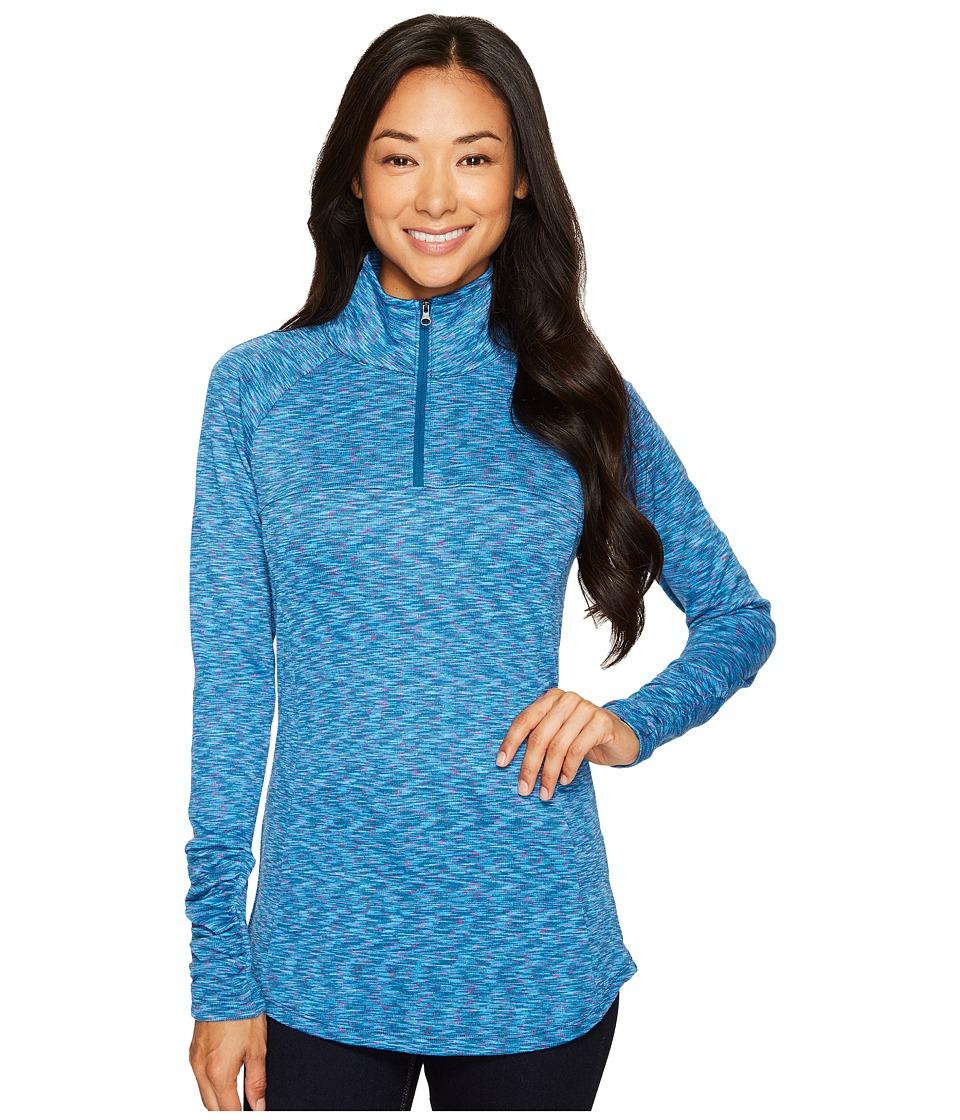 Columbia - OuterSpaced III Half Zip Top (Phoenix Blue) Women's Long Sleeve Pullover
