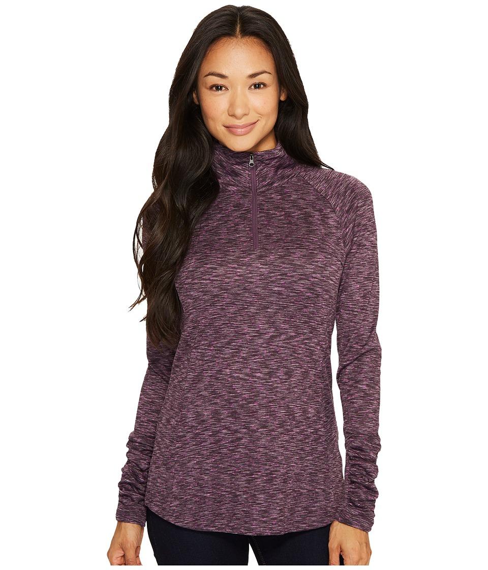 Columbia - OuterSpaced III Half Zip Top (Dusty Purple) Women's Long Sleeve Pullover