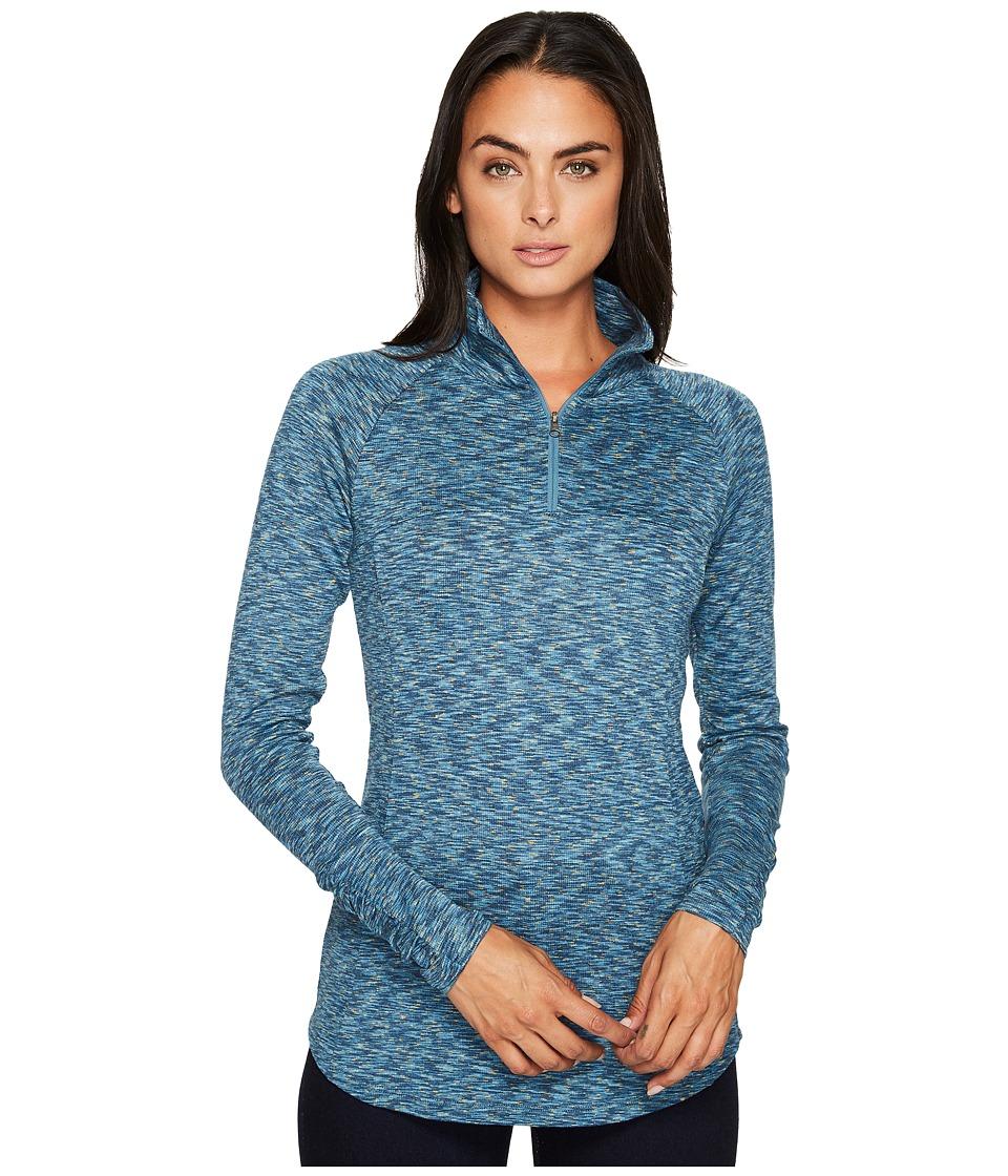 Columbia - OuterSpaced III Half Zip Top (Cloudburst) Women's Long Sleeve Pullover