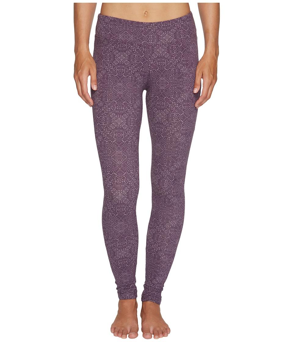 Columbia Anytime Casual II Printed Leggings (Dusty Purple Snowflake) Women
