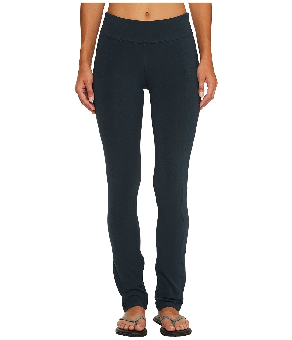 Columbia - Anytime Casual Straight Leg Pants (Night Shadow) Women's Casual Pants