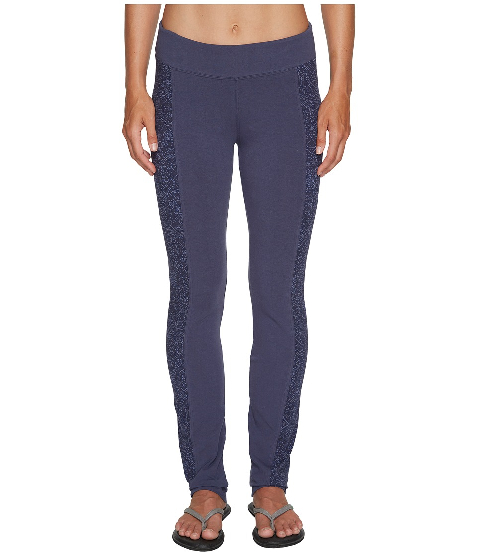 Columbia - Anytime Casual Straight Leg Pants (Nocturnal/Nocturnal Snowflake) Women's Casual Pants