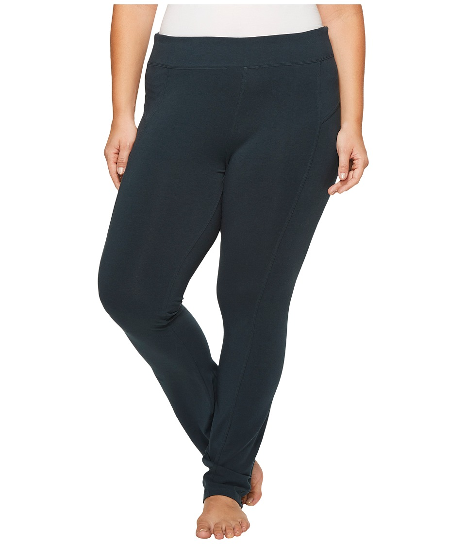 Columbia - Plus Size Anytime Casual Straight Leg Pants (Night Shadow) Women's Casual Pants