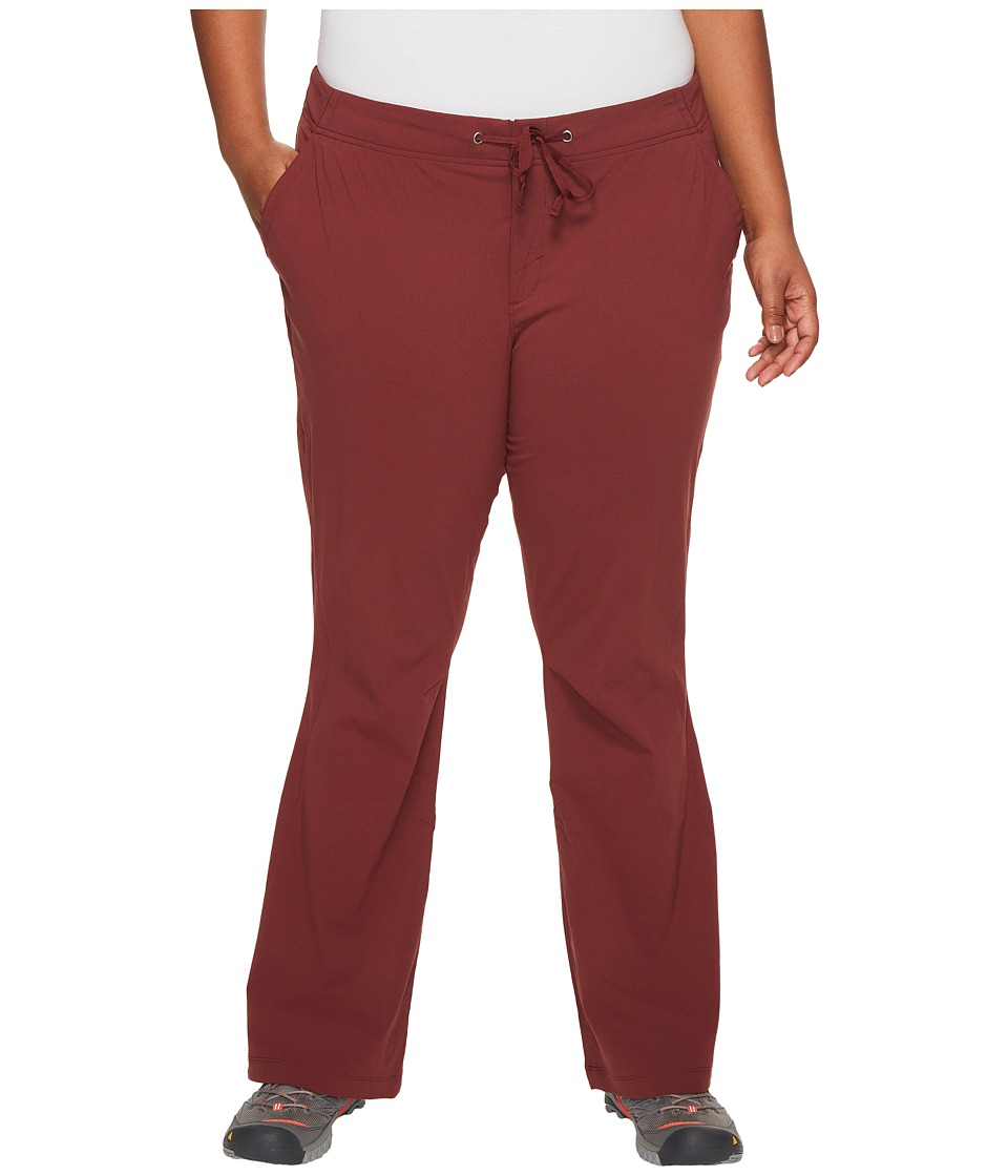 Columbia - Plus Size Anytime Outdoortm Boot Cut Pant (Bloodstone) Women's Casual Pants