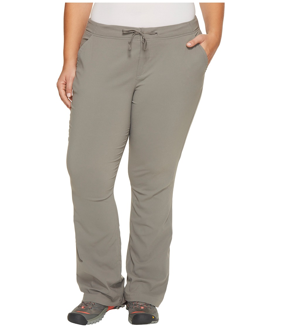 Columbia - Plus Size Anytime Outdoortm Boot Cut Pant (Boulder) Women's Casual Pants