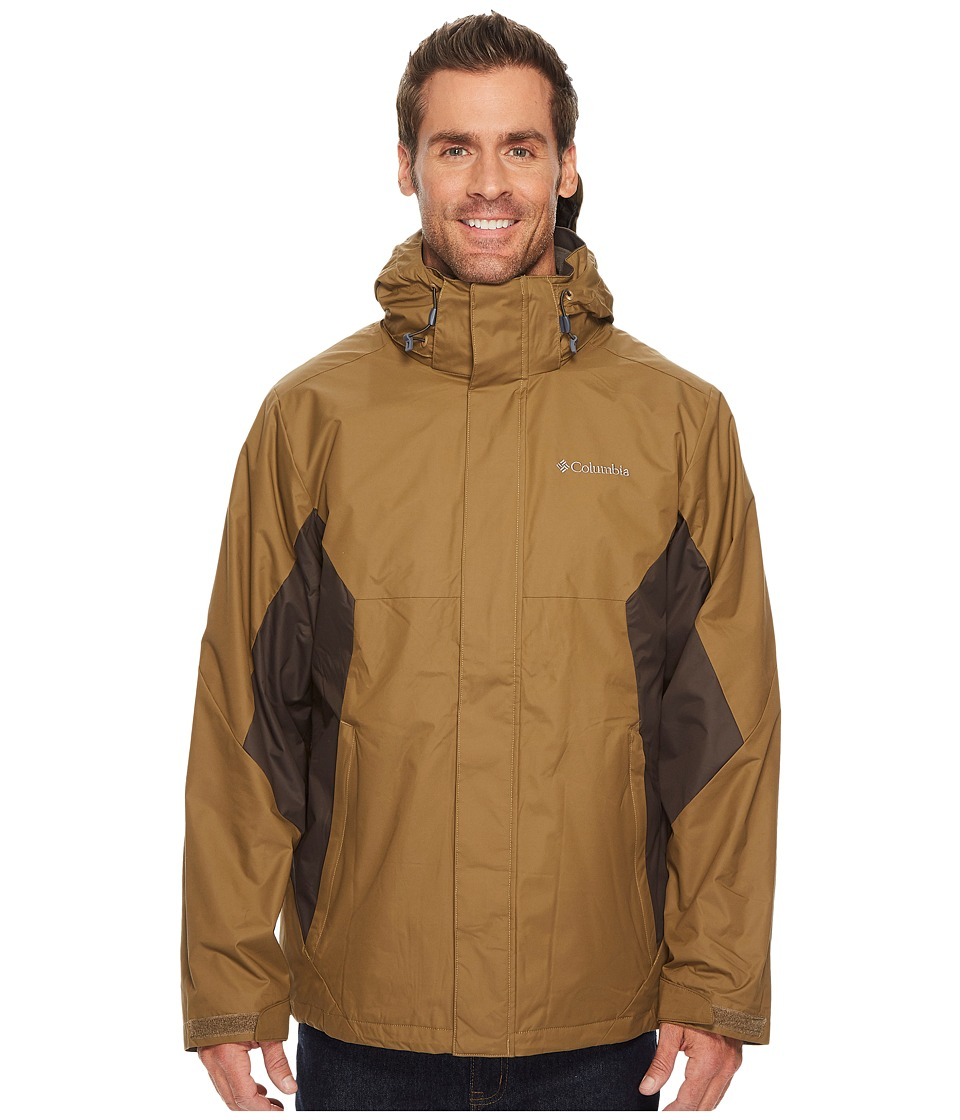 Columbia - Eager Air Interchange Jacket (Trail/Buffalo) Men's Coat