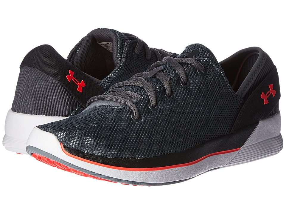 Under Armour - UA Rotation (Rhino Gray/Black/Marathon Red) Women's Cross Training Shoes