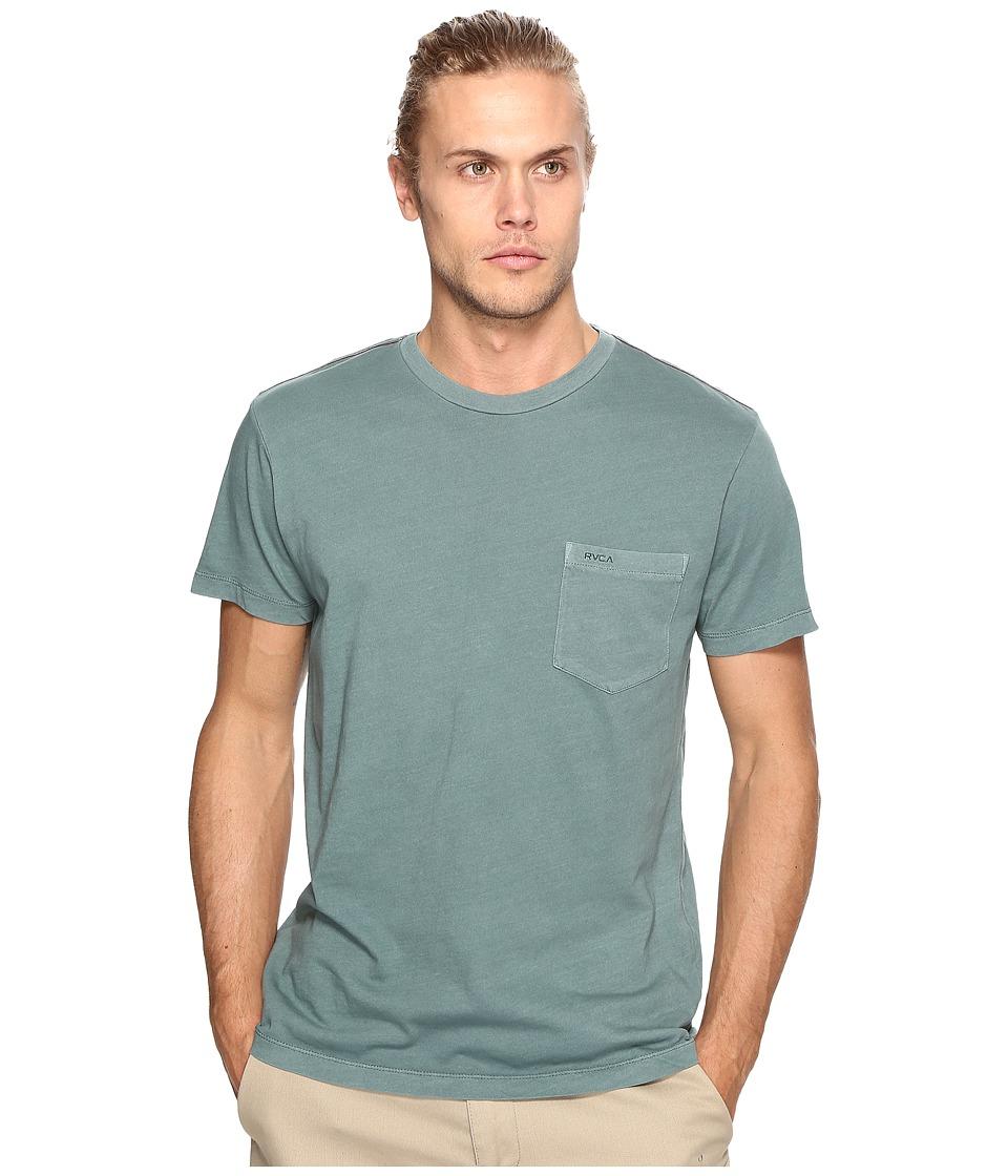 RVCA - PTC 2 Pigment Knit Tee (Pine Tree) Men's T Shirt