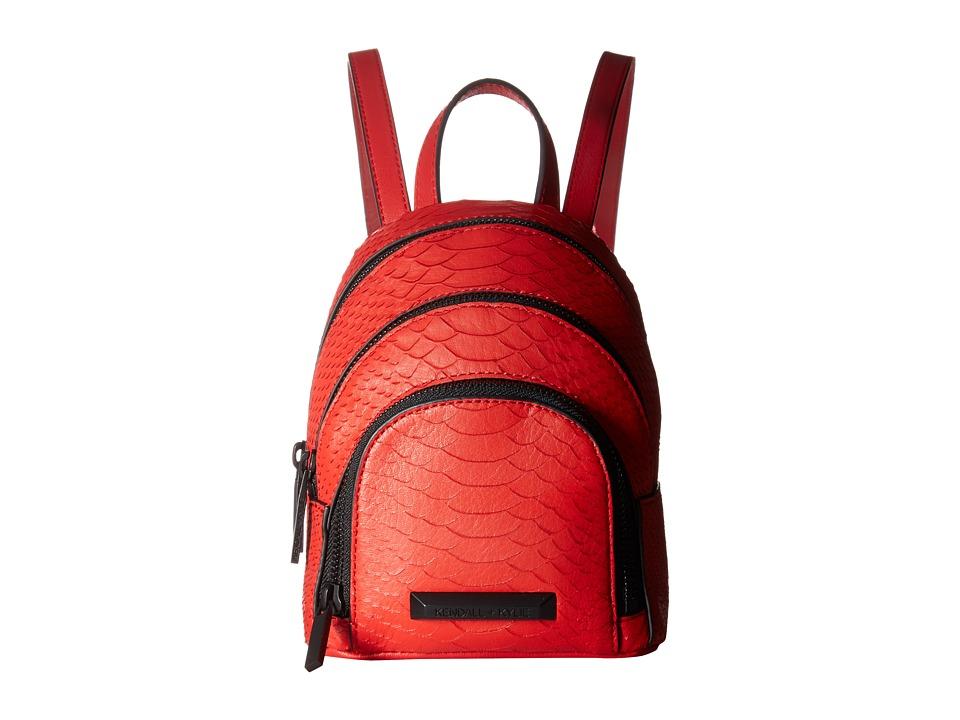 KENDALL + KYLIE - Sloane Nano (Fiery Red) Backpack Bags