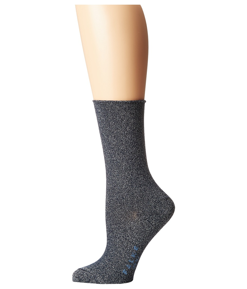 Falke - Shiny Anklet Socks (Dark Navy) Women's Low Cut Socks Shoes