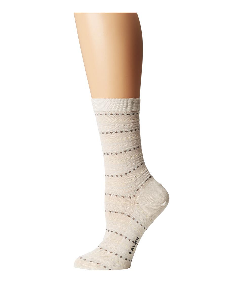 Falke - Pin Anklet Socks (Off-White) Women's Low Cut Socks Shoes