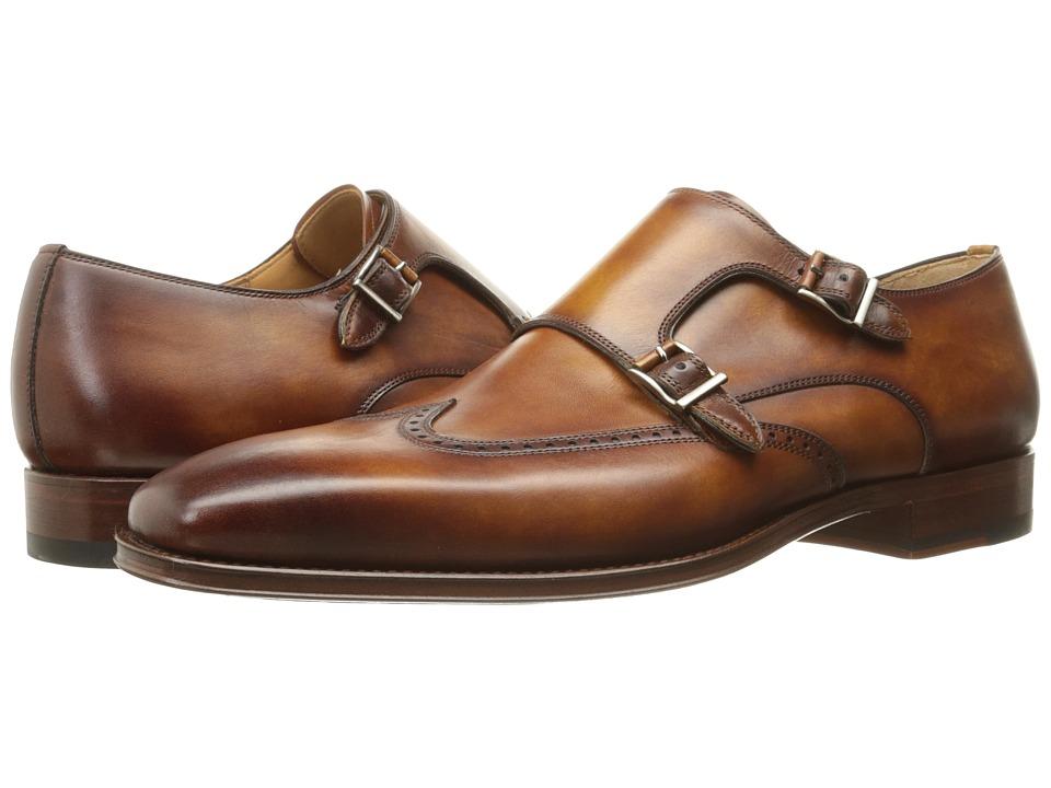 Magnanni - Logan (Cuero) Men's Monkstrap Shoes
