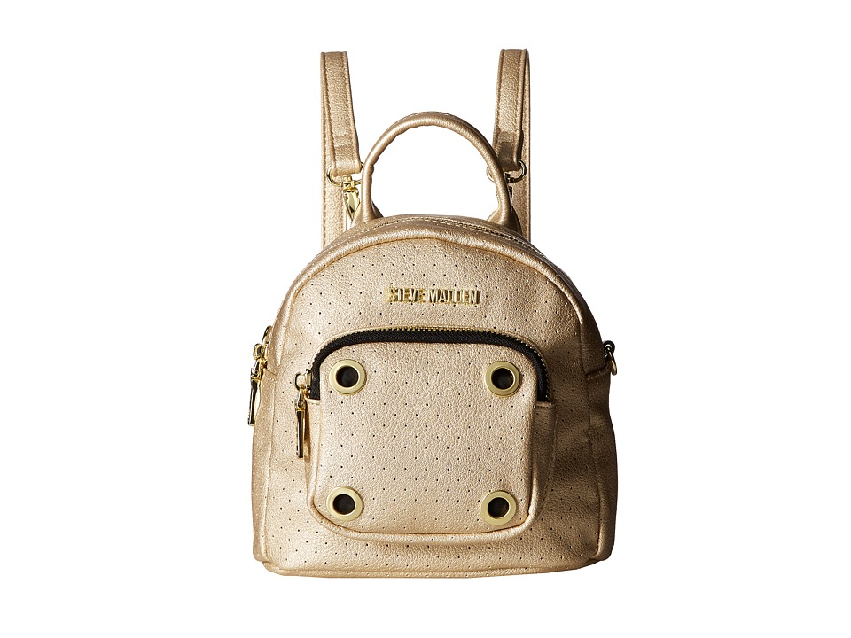 Steve Madden - Bloey Perf Backpack (Gold) Backpack Bags