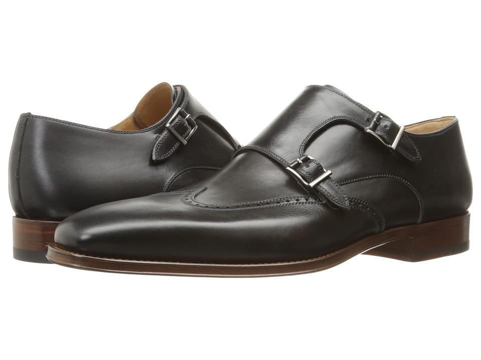 Magnanni - Logan (Grey 1) Men's Monkstrap Shoes