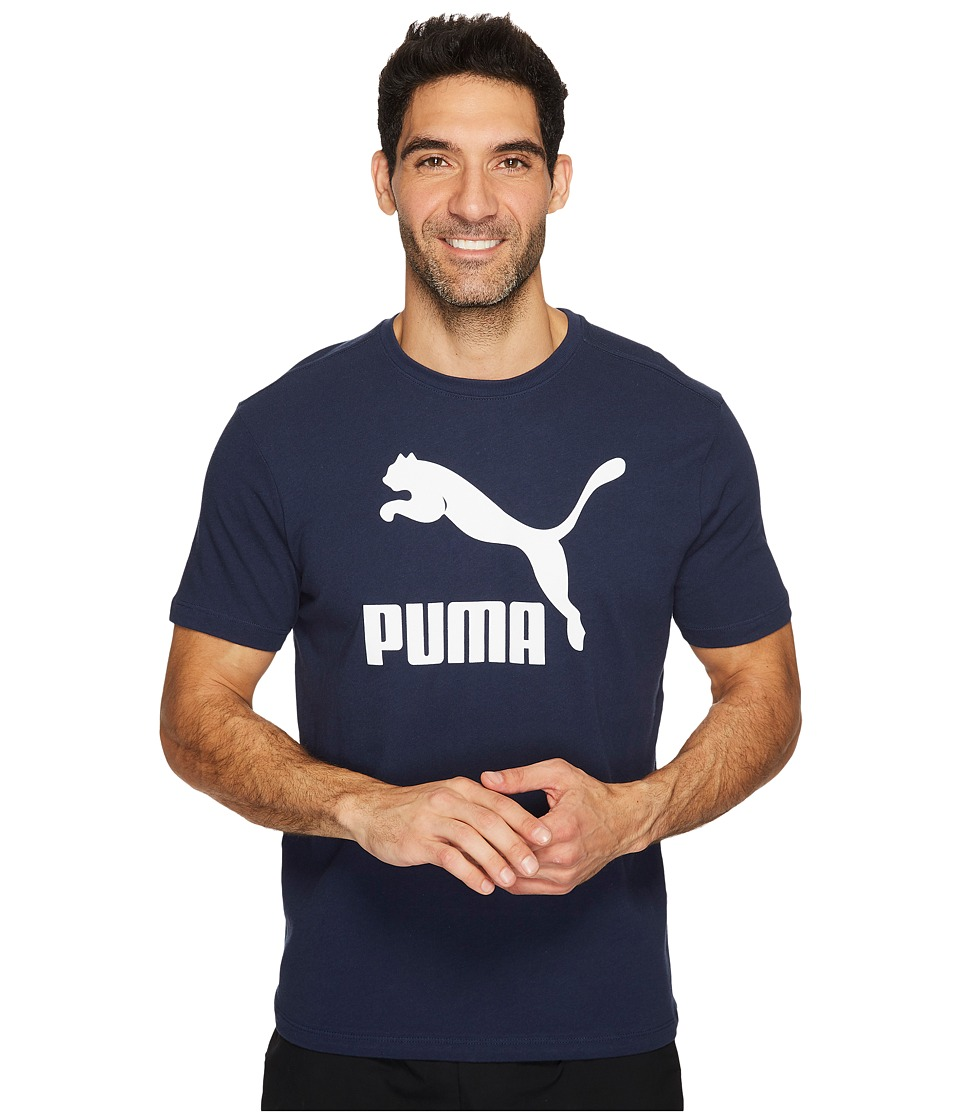 PUMA - Archive Life Tee (Peacoat/Puma White) Men's T Shirt