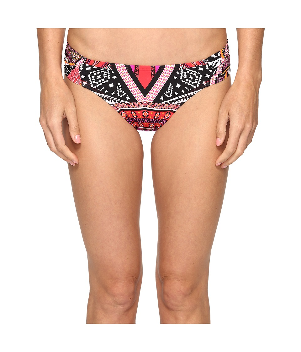 Kenneth Cole - Without Borders Tab Hipster (Lipstick) Women's Swimwear