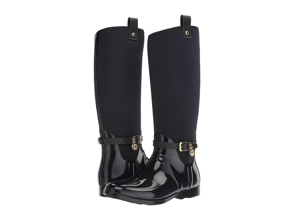 MICHAEL Michael Kors - Charm Stretch Rainboot (Admiral) Women's Rain Boots
