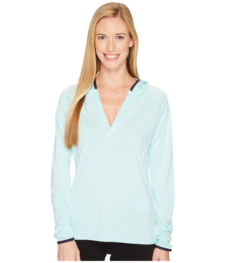 Under Armour - Tech Long Sleeve Hoodie Twist (Blue Infinity) Women's Sweatshirt