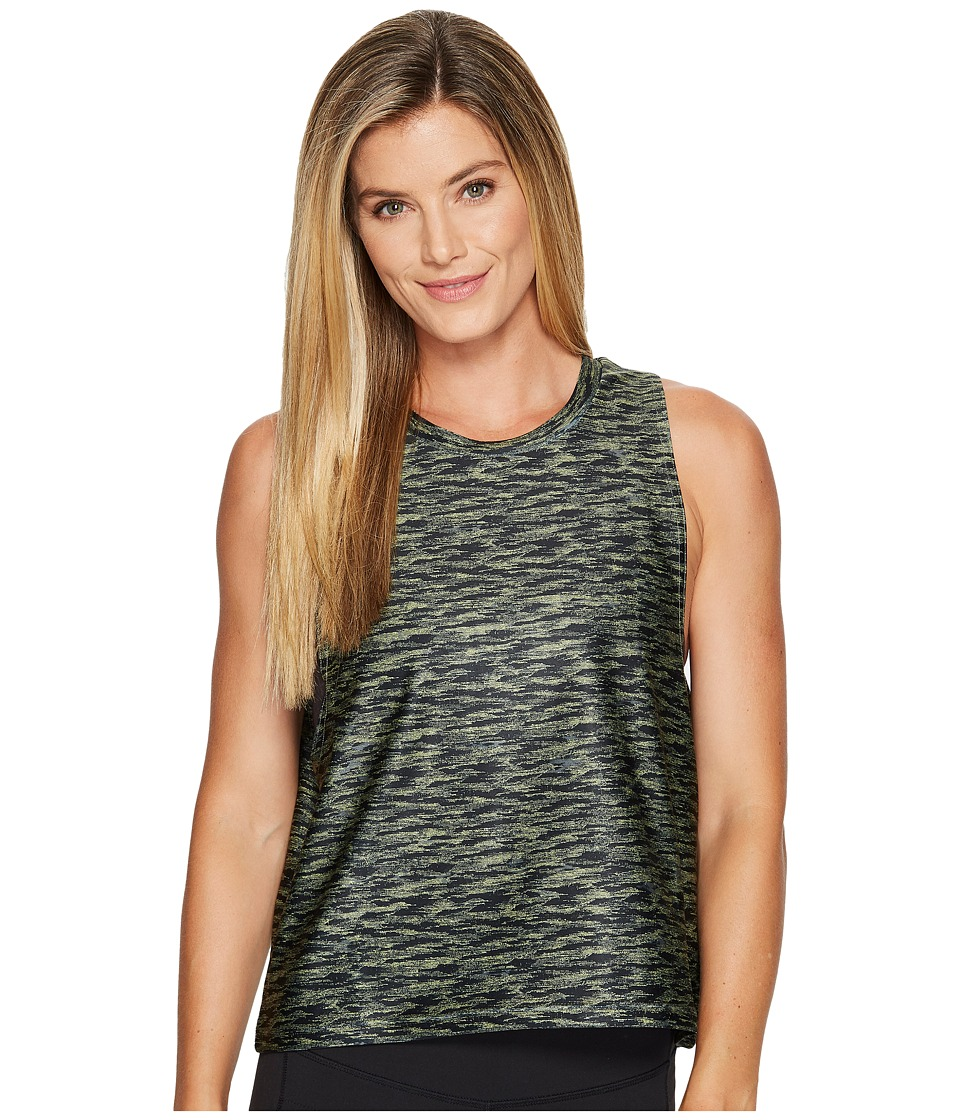 PUMA - AOP Velvet Rope Tank Top (PUMA Black) Women's Sleeveless