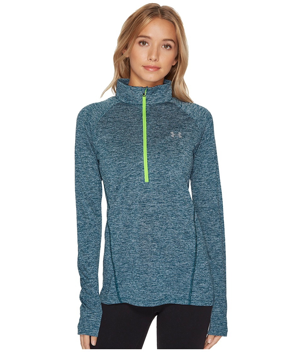 Under Armour - UA Techtm 1/2 Zip Twist (Arden Green) Women's Long Sleeve Pullover