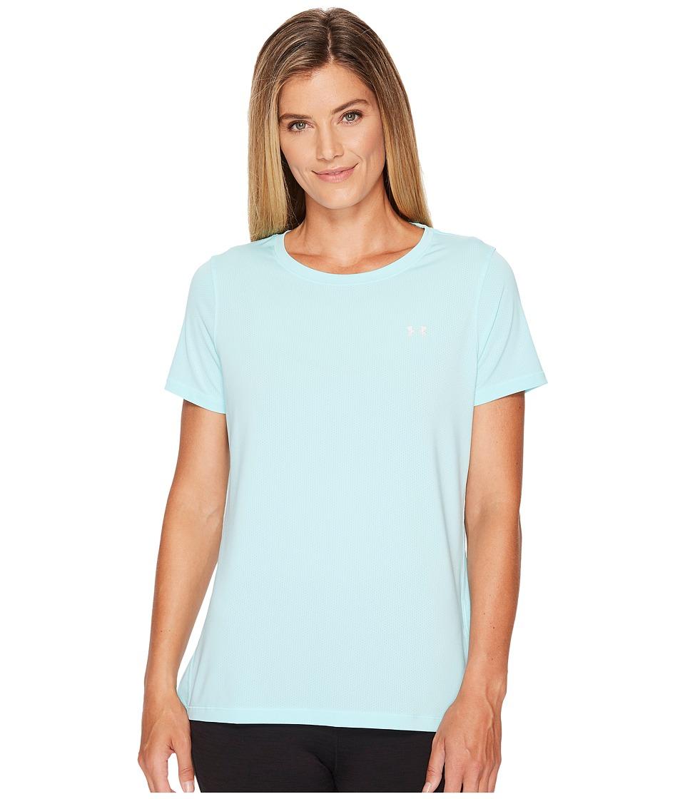 Under Armour - UA HeatGear(r) Armour Short Sleeve (Blue Infinity) Women's Clothing