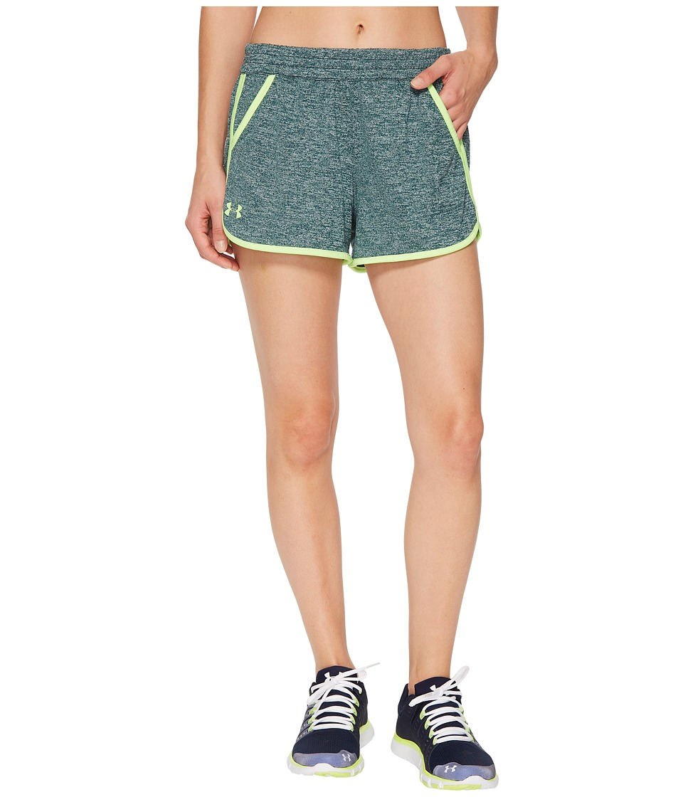 Under Armour - Tech Shorts 2.0 Twist (Arden Green) Women's Shorts