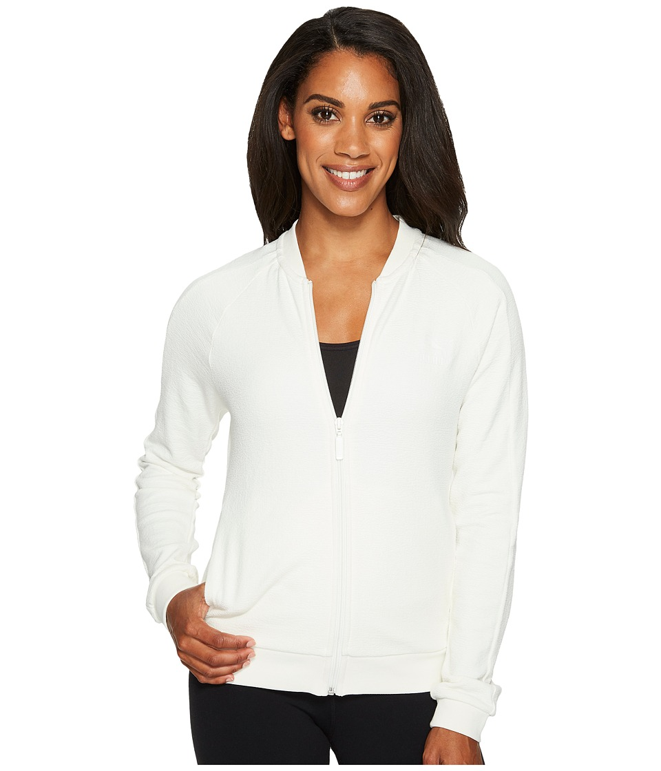 PUMA - Archive T7 Track Structured Jacket (Marshmallow) Women's Coat