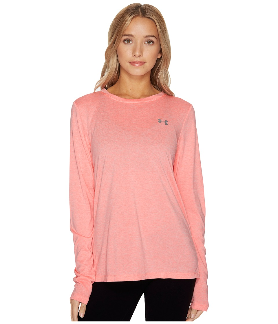 Under Armour - Tech Long Sleeve Crew Twist (Cape Coral) Women's Clothing