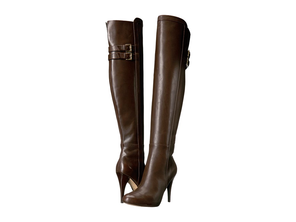 Michael Kors Delaney Boot (Coffee) Women's Boots