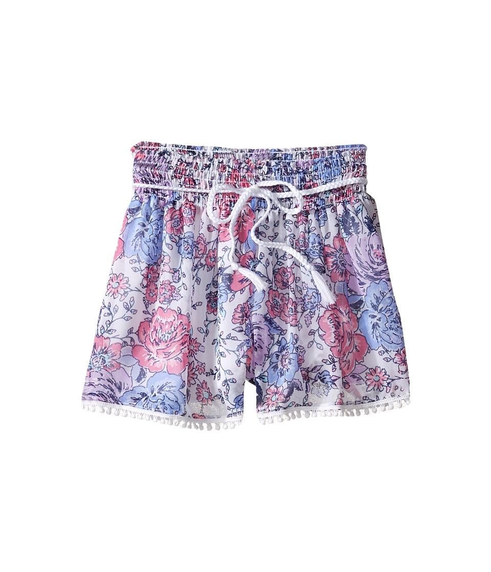 Ella Moss Girl - Izzy Printed Chiffon Shorts (Big Kids) (Print) Girl's Shorts