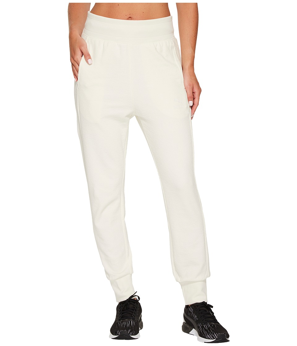 PUMA - Archive Logo T7 Structured Pants (Marshmallow) Women's Casual Pants