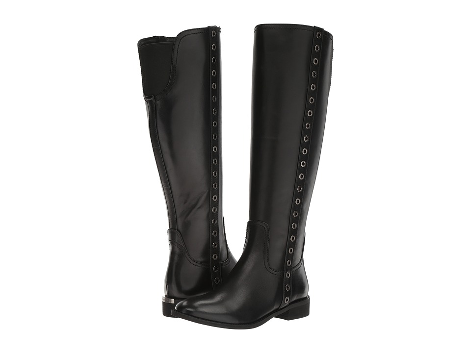 MICHAEL Michael Kors - Dora Boot Wide Shaft (Black) Women's Boots