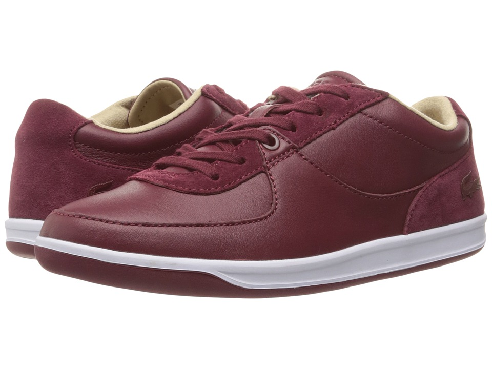 Lacoste - LS.12-Minimal 416 1 (Dark Red) Men's Shoes