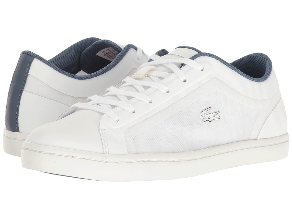 Lacoste - Straightset 316 2 (White) Women's Shoes